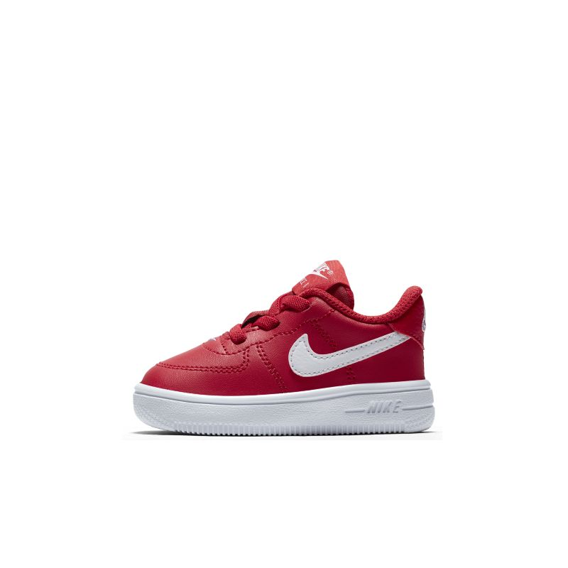 Nike Air Force 1 Toddler Shoe - Red