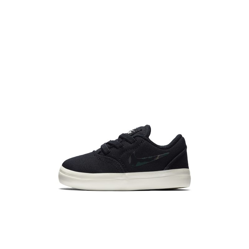 Nike SB Check Canvas Baby&Toddler Shoe - Black