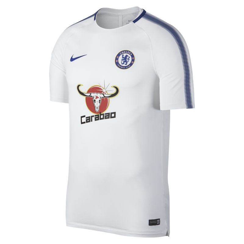 Chelsea FC Breathe Squad Men's Football Top - White