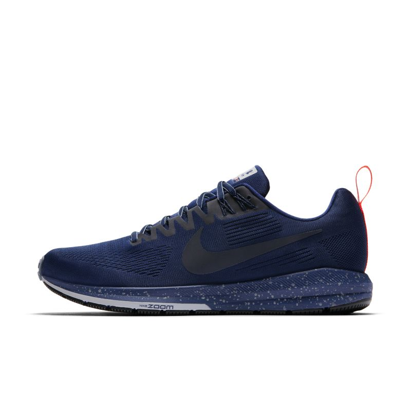 Nike Air Zoom Structure 21 Shield Men's Running Shoe - Blue