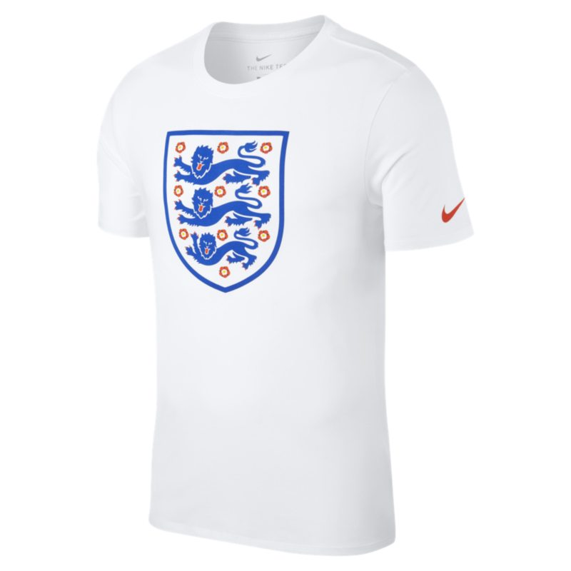 Image of Chelsea FC Crest Men's T Shirt White