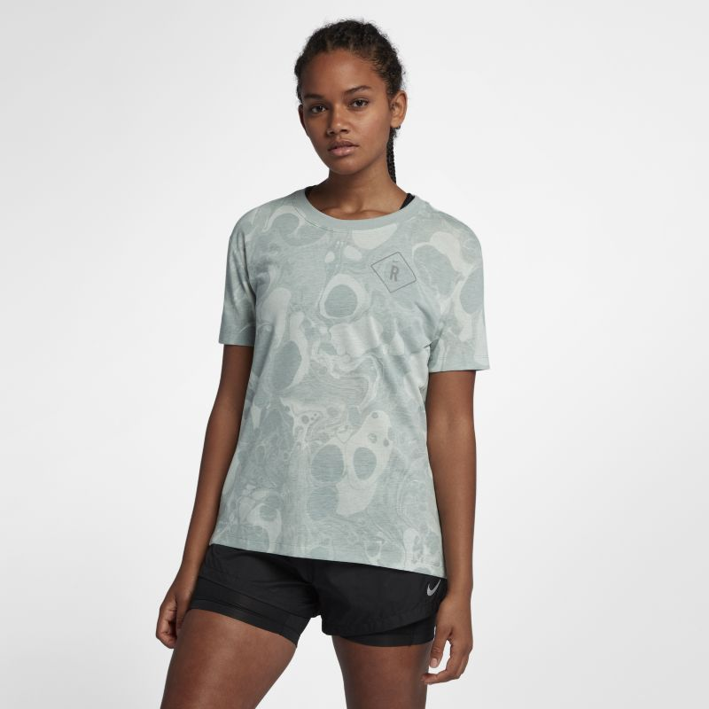 Nike Dri-FIT Women's Running T-Shirt - Grey