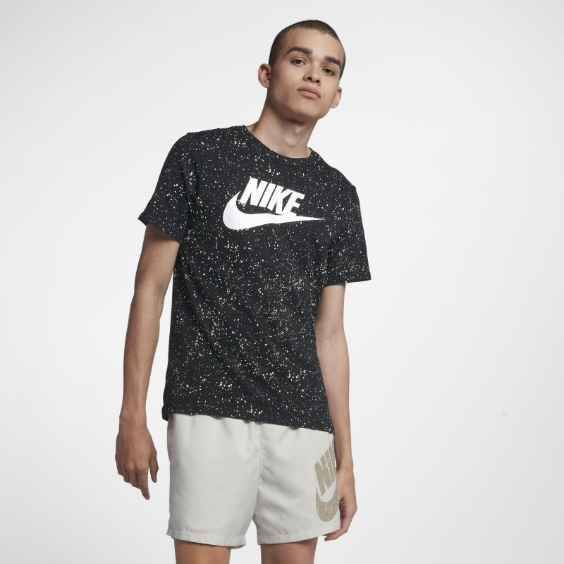 Nike Sportswear Men's Printed T-Shirt - Black