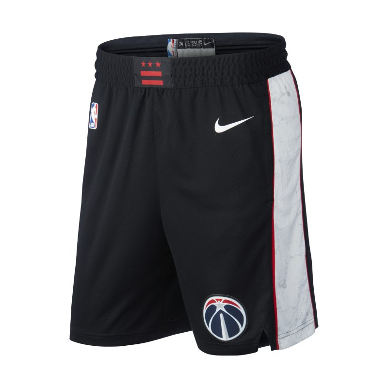 Image of Washington Wizards Nike Icon Edition Swingman Men's NBA Shorts Red