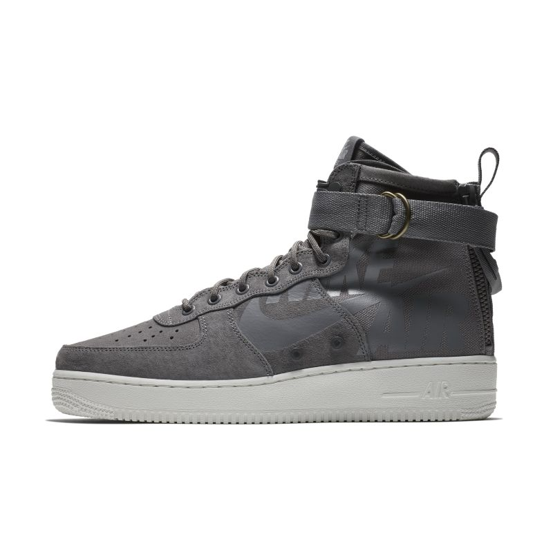 Nike SF Air Force 1 Mid Men's Shoe - Grey