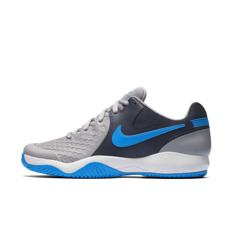 NikeCourt Air Zoom Resistance Men's Hard Court Tennis Shoe - Grey