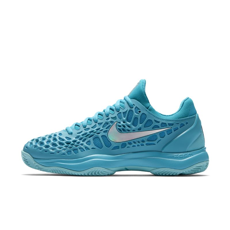 Nike Zoom Cage 3 Clay Women's Tennis Shoe - Blue