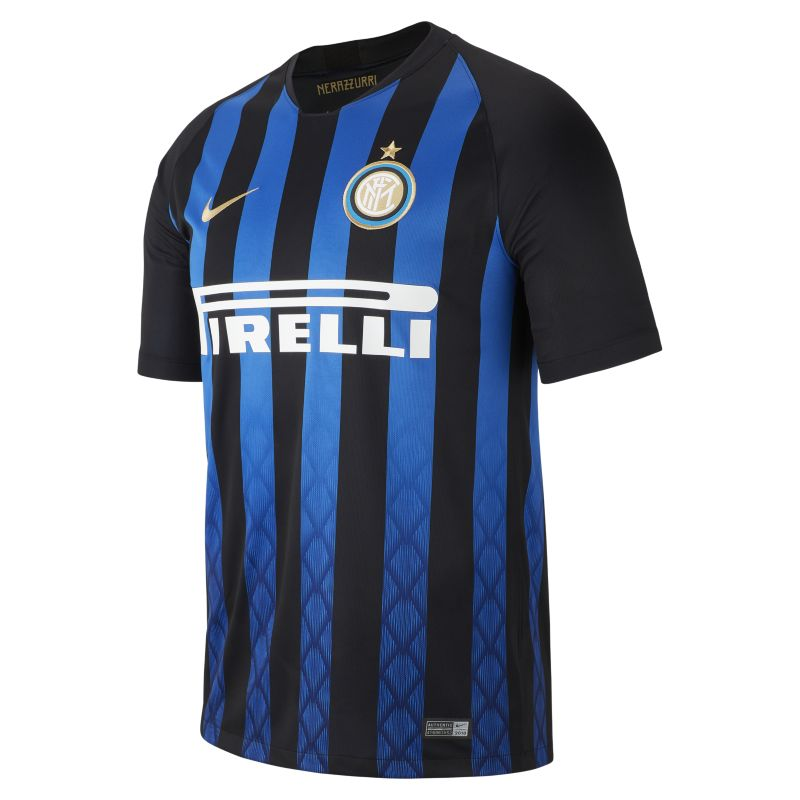 2018/19 Inter Milan Stadium Home Men's Football Shirt - Blue