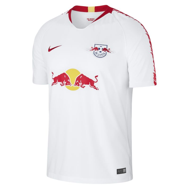 2018/19 RB Leipzig Stadium Home Men's Football Shirt - White