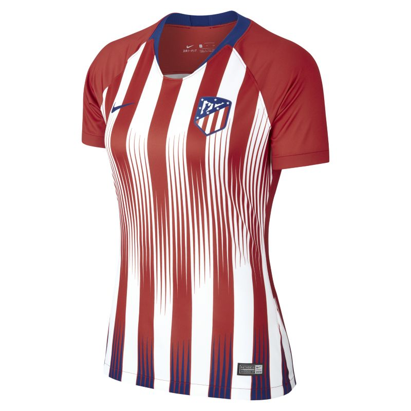 2018/19 Atletico de Madrid Stadium Home Women's Football Shirt - Red