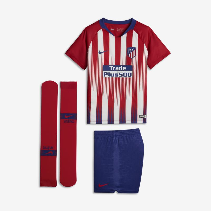 2018/19 Atletico de Madrid Stadium Home Younger Kids'Football Kit - Red