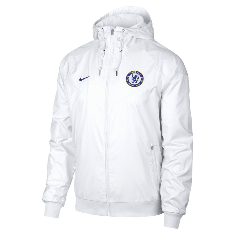 Chelsea FC Windrunner Men's Jacket - White