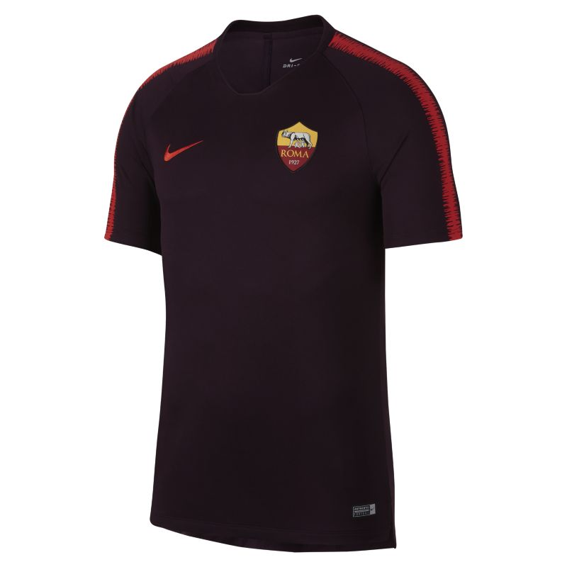 A.S. Roma Breathe Squad Men's Football Top - Red