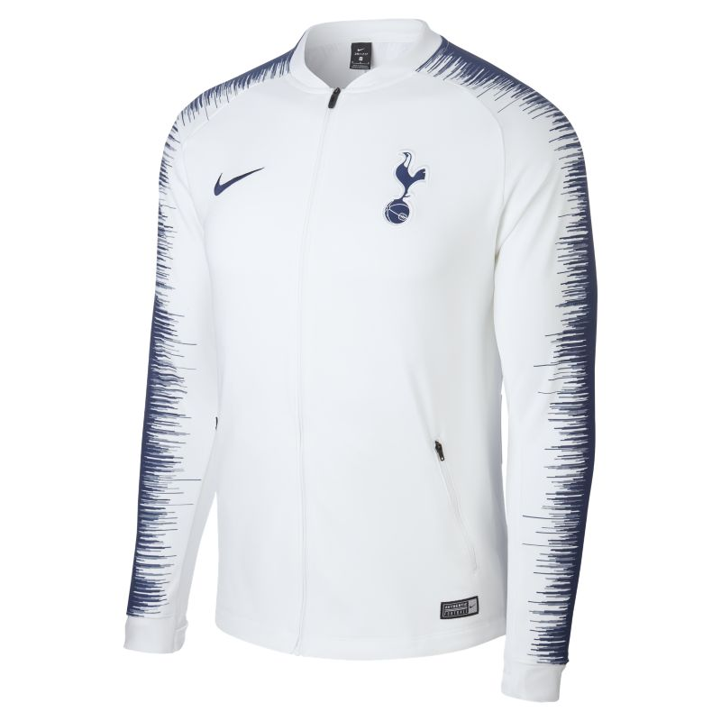 Tottenham Hotspur Anthem Men's Football Jacket - White