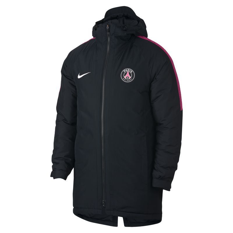 Paris Saint-Germain Squad Men's Jacket - Black