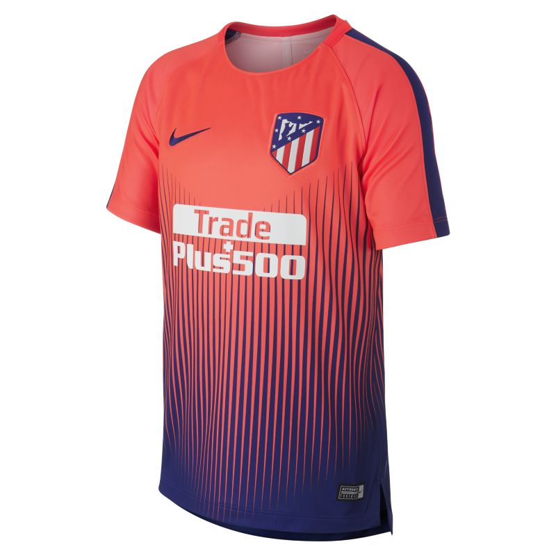Atletico de Madrid Dri-FIT Squad Older Kids'Football Top - Red