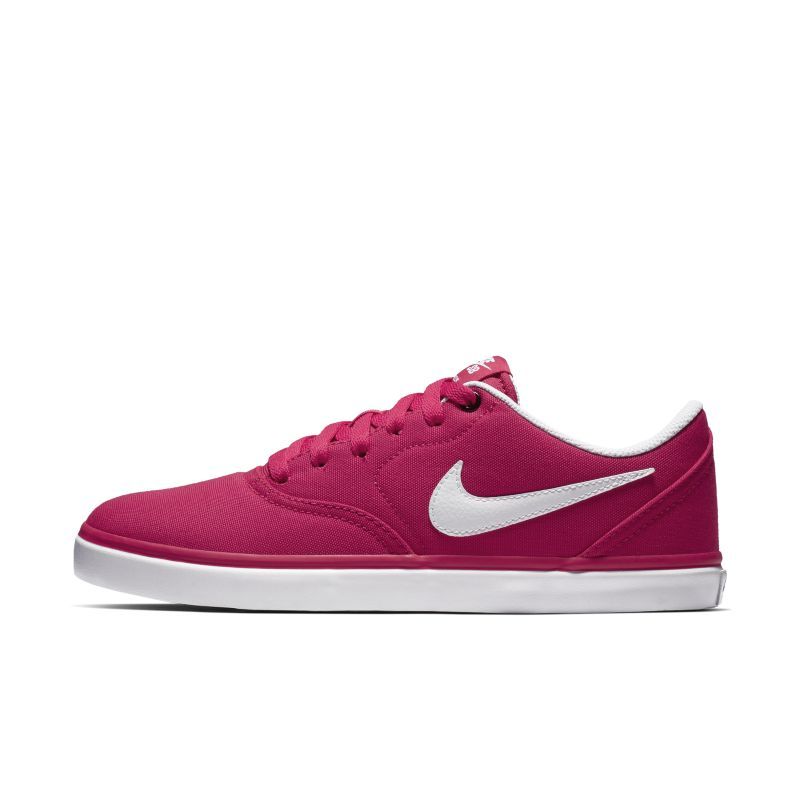 Image of Scarpa da skateboard Nike SB Check Solarsoft Canvas - Donna - Rosa