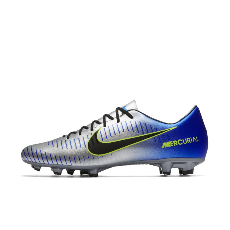 Nike Mercurial Victory VI Neymar Firm-Ground Football Boot - Grey
