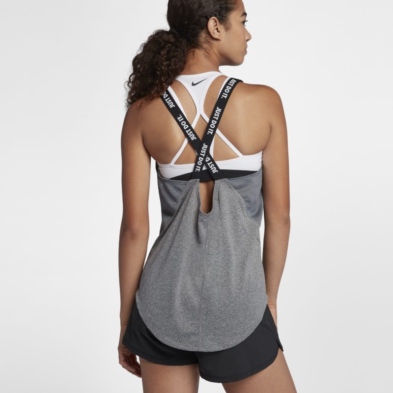 Nike Dri-FIT Elastika Women's Training Tank Top - Grey