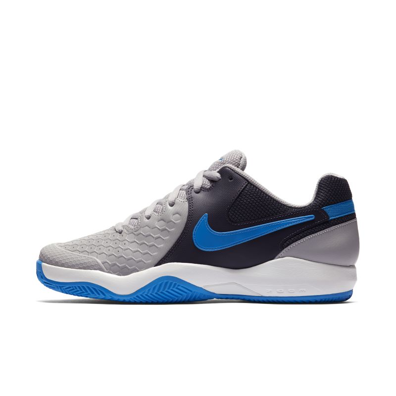 NikeCourt Air Zoom Resistance Clay Men's Tennis Shoe - Grey