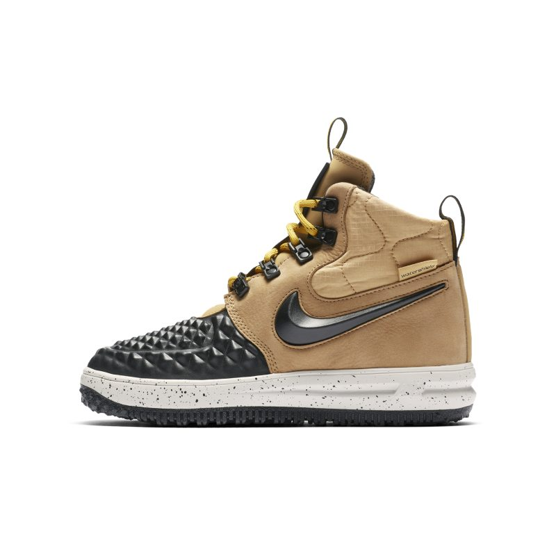 Nike Lunar Force 1 Duckboot'17 Older Kids'Boot - Gold
