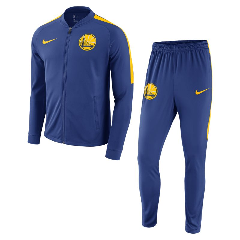 Golden State Warriors Nike Dry Men's NBA Track Suit - Blue