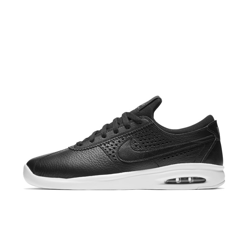 Nike Nike SB Air Max Bruin Vapor Leather Men's Skateboarding Shoe - Black