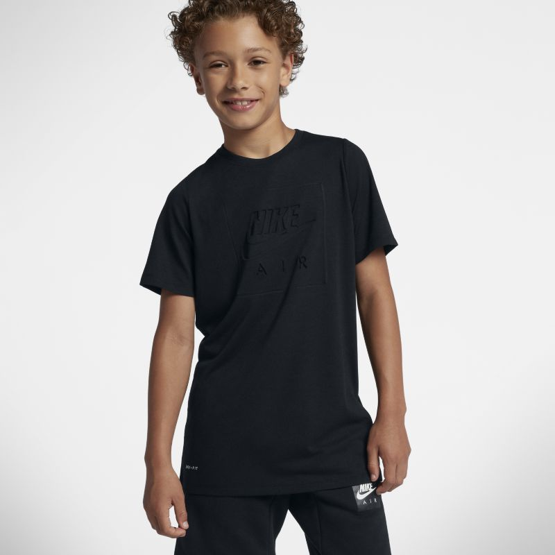 Nike Dri-FIT Older Kids'(Boys') T-Shirt - Black