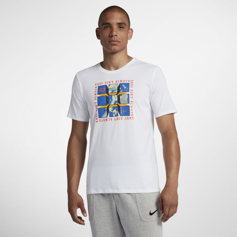 Nike Dri-FIT KD Men's T-Shirt - White