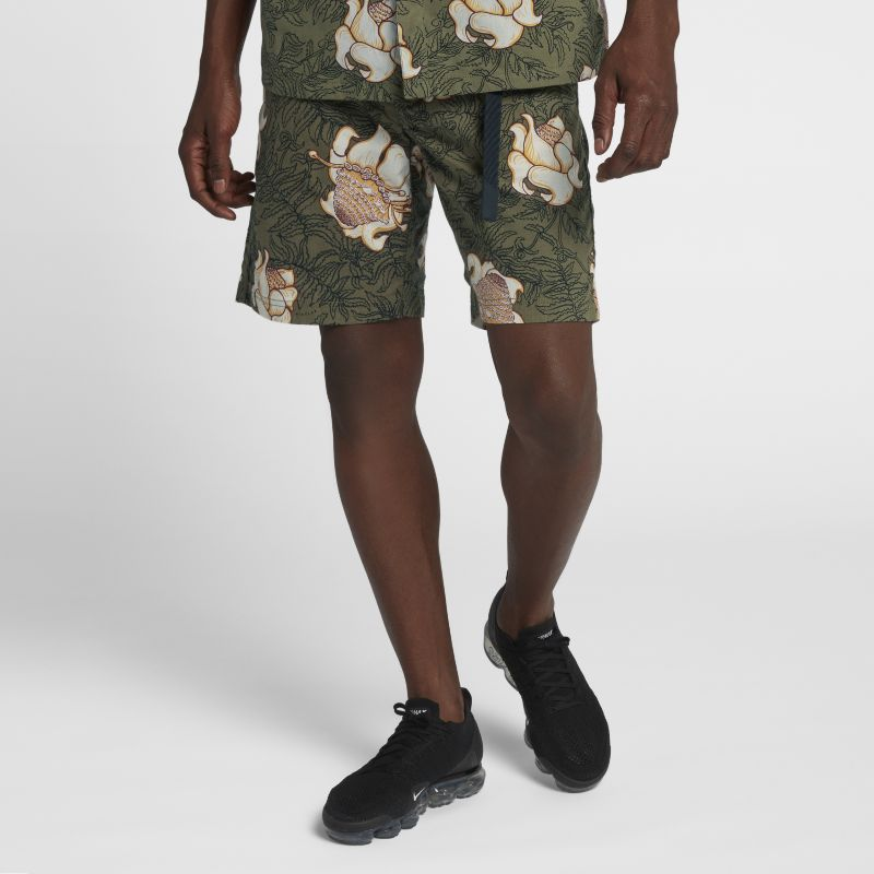 Image of Shorts NikeLab Collection Floral - Uomo - Olive