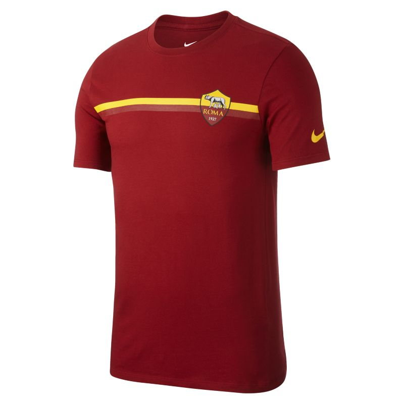 A.S. Roma Crest Men's T-Shirt - Red