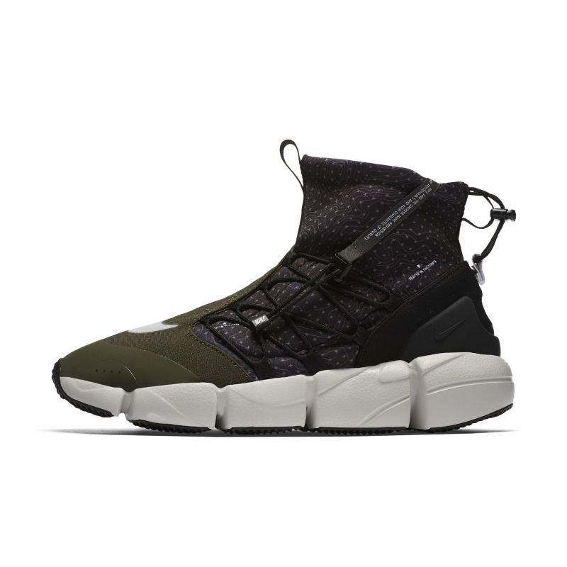 Nike Air Footscape Mid Utility Men's Shoe - Black