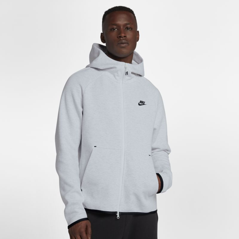 Nike Sportswear Tech Fleece Men's Full-Zip Hoodie - Grey