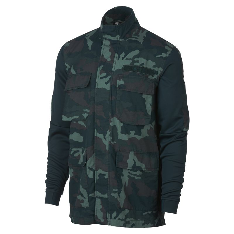Nike Sportswear NSW Men's Camo Jacket - Green