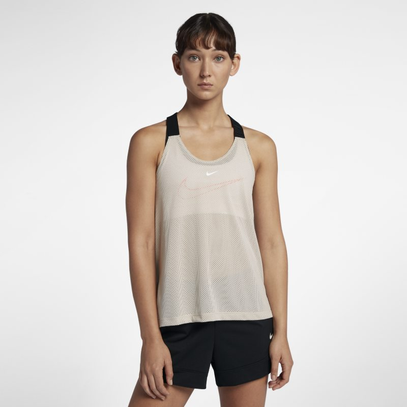 Nike Elastika Women's Training Tank - Grey