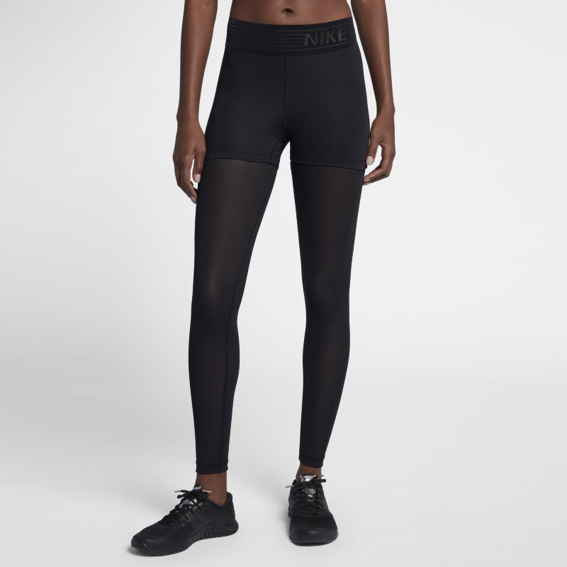 Nike Pro Deluxe Women's Mid-Rise Training Tights - Black
