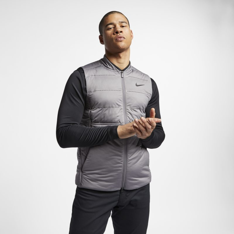 Nike AeroLoft Men's Golf Gilet - Grey