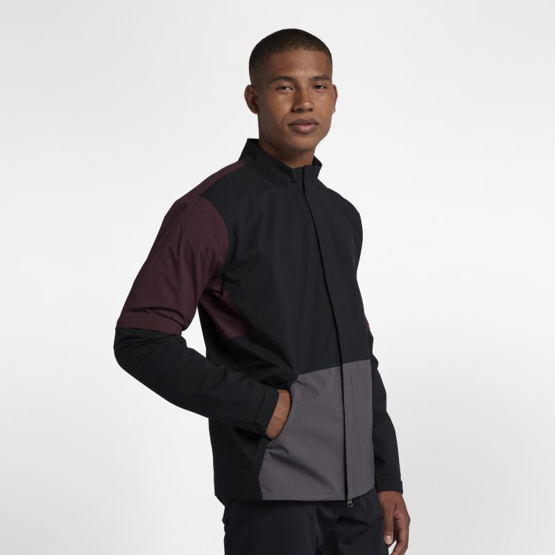 Nike HyperShield Men's Convertible Golf Jacket - Black