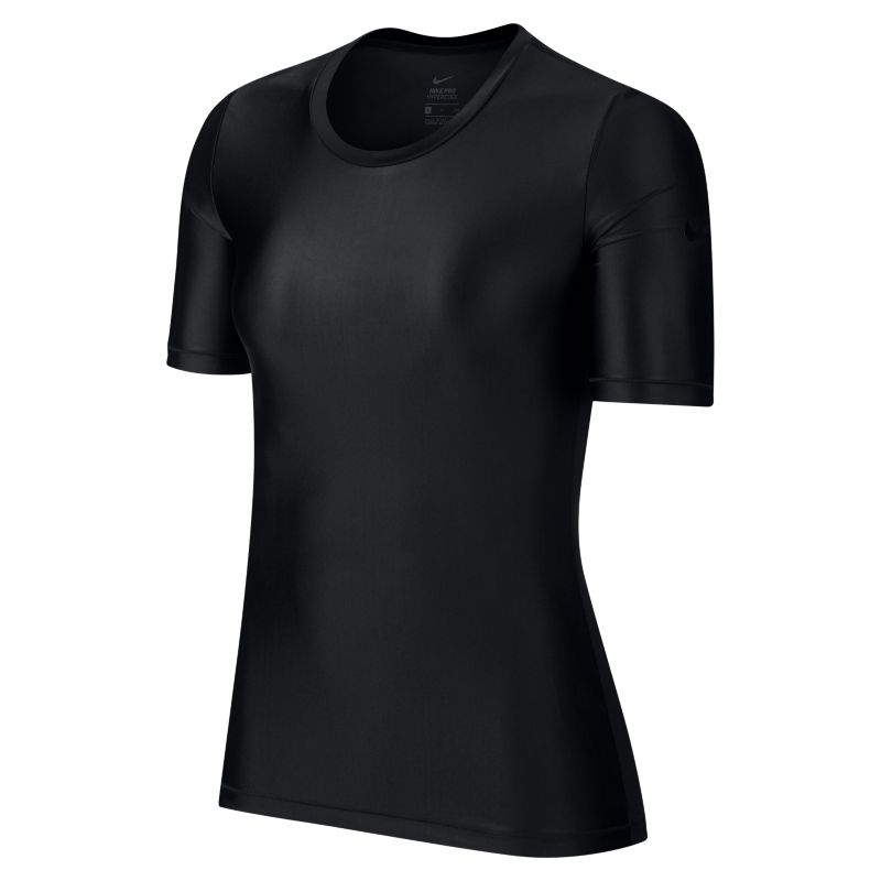 Nike Pro HyperCool Women's Short-Sleeve Training Top - Black