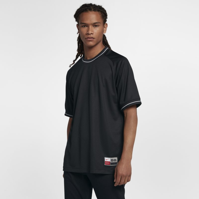 Nike SB Dri-FIT Men's Short-Sleeve Top - Black