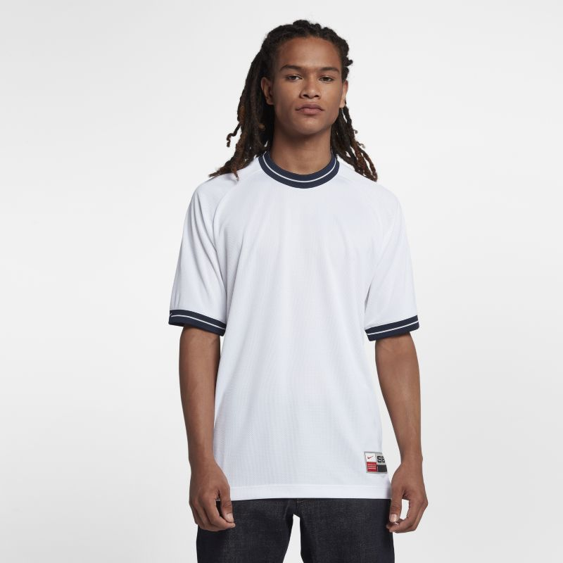 Nike SB Dri-FIT Men's Short-Sleeve Top - White