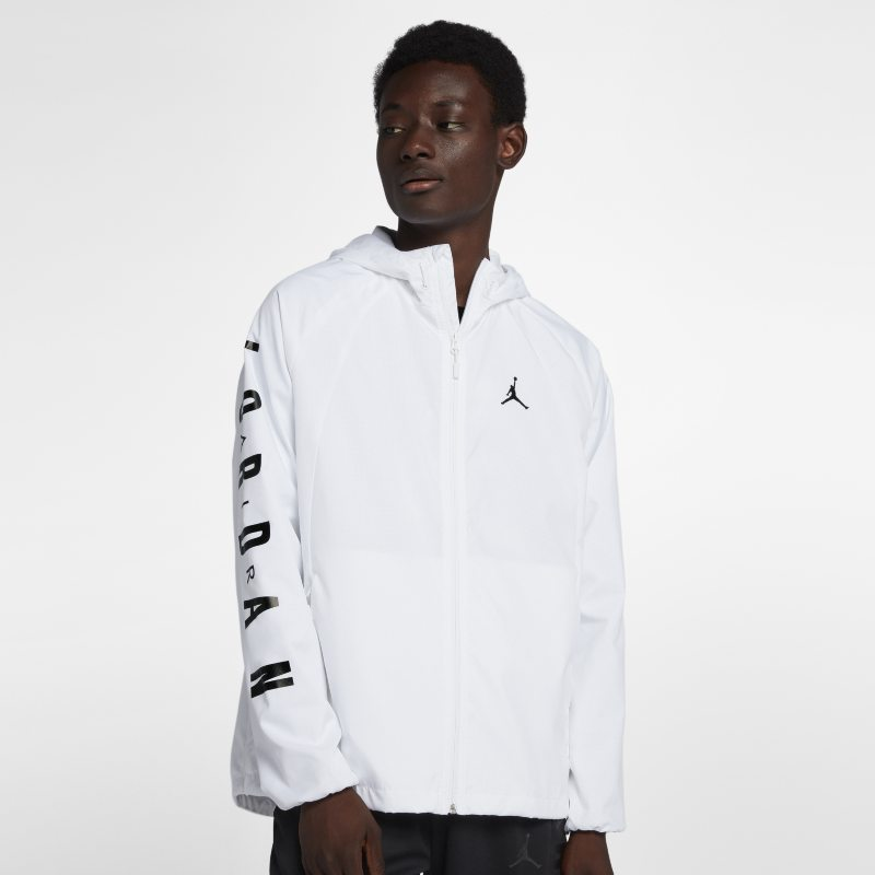 Jordan Lifestyle Wings Windbreaker Men's Jacket - White