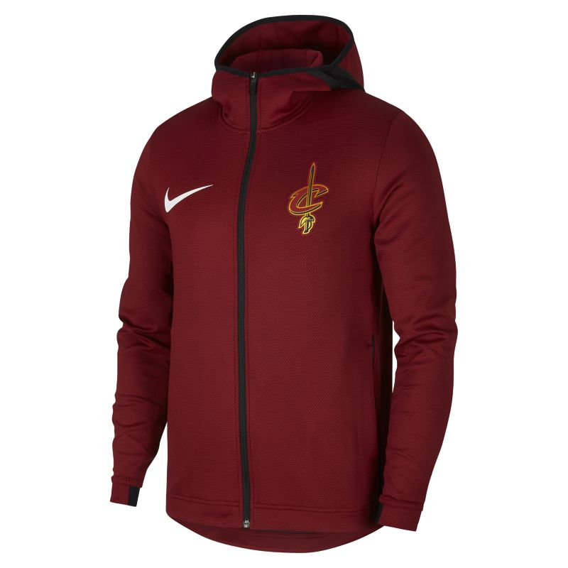 Cleveland Cavaliers Nike Therma Flex Showtime Men's NBA Hoodie - Red