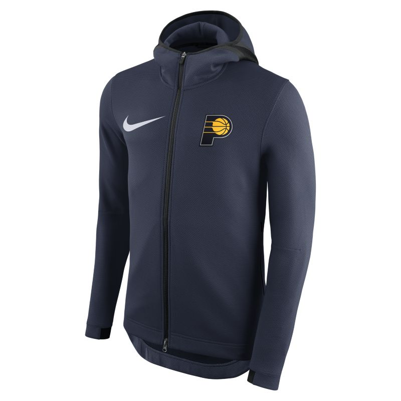 Indiana Pacers Nike Therma Flex Showtime Men's NBA Hoodie - Blue