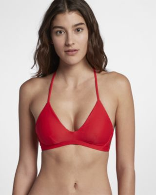 Hurley Quick Dry Women's Surf Top - Red
