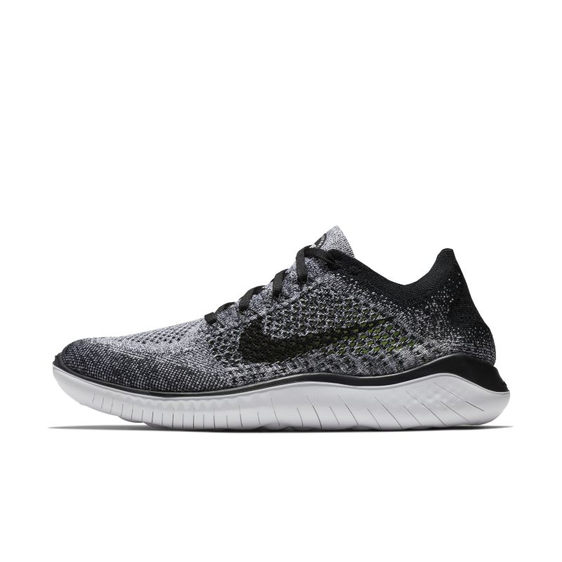 Nike Free RN Flyknit 2018 Men's Running Shoe - Grey