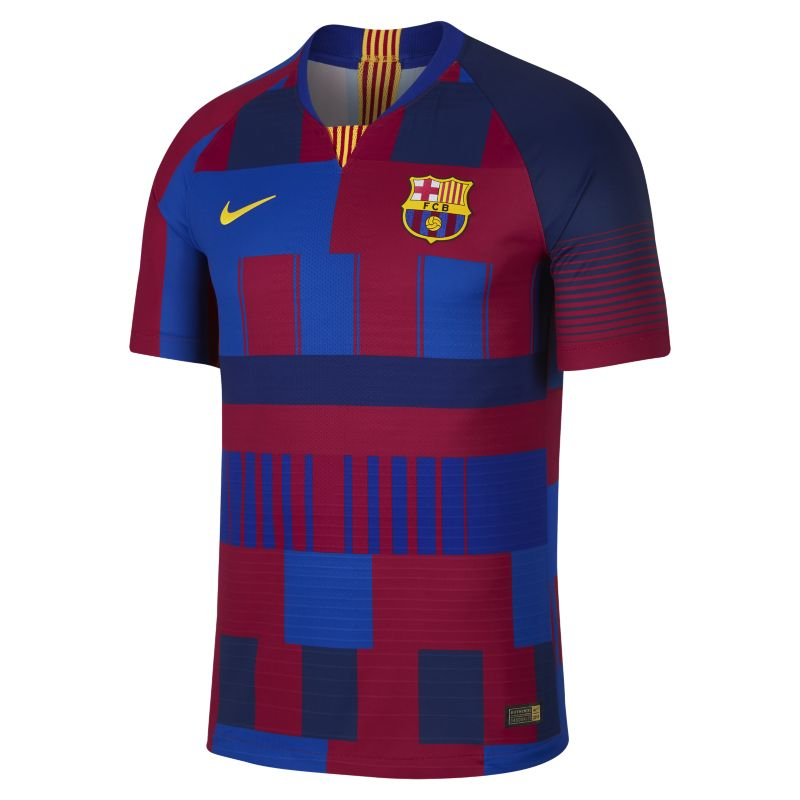 FC Barcelona 20th Anniversary Vapor Match Men's Shirt - Blue