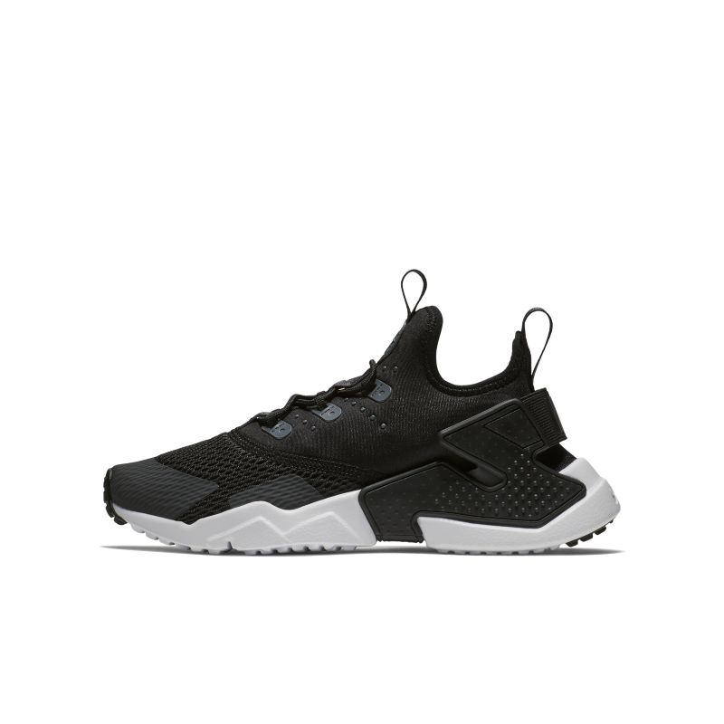 Nike Huarache Run Drift Older Kids' Shoe - Black