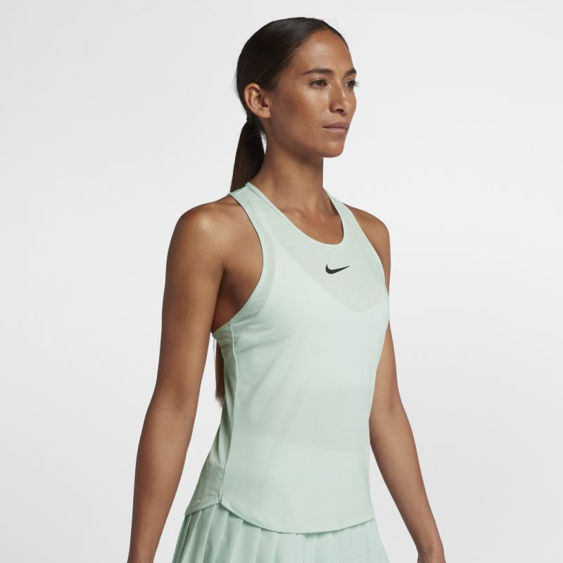 NikeCourt Dri-FIT Slam Women's Tennis Tank Top - Green