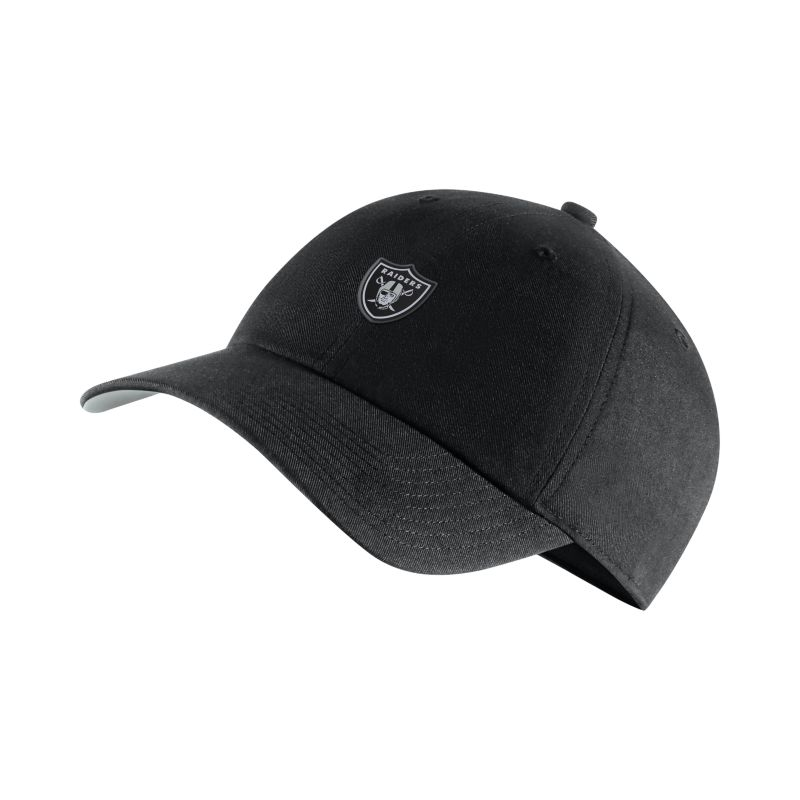 Nike Heritage86 (NFL Raiders) Adjustable Hat - Black